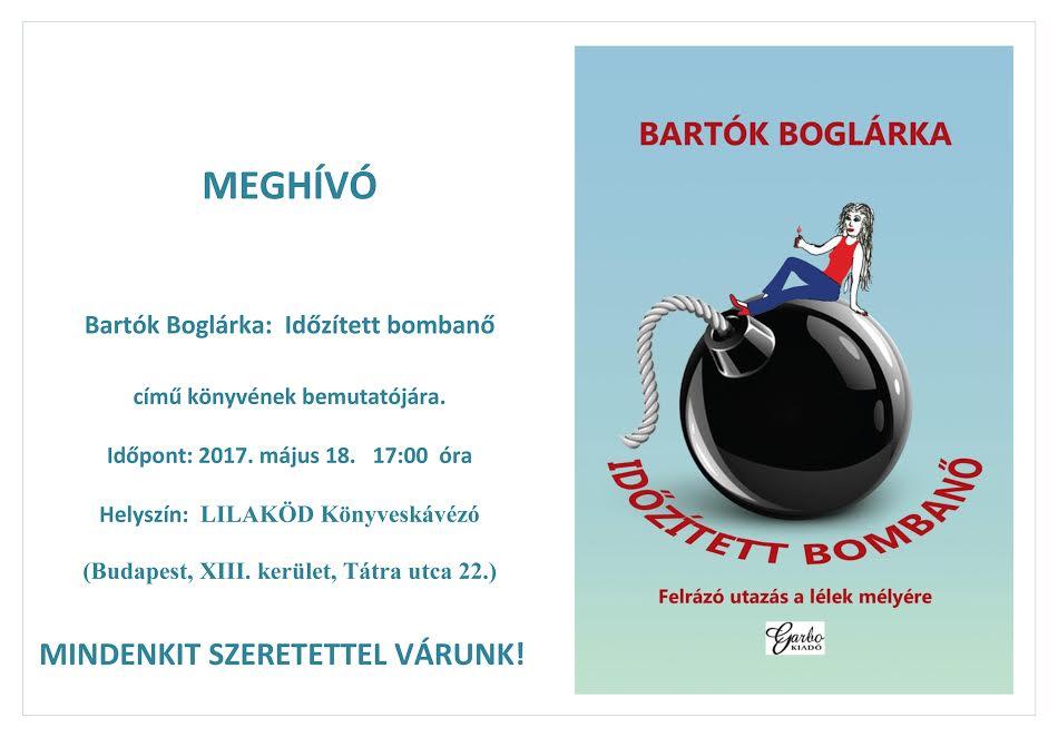 Bartók Boglárka Időzített bombanő